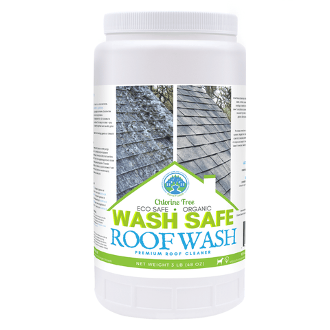 Image of Roof, Cleaning, Roof Wash, Wash Safe, How to Clean Your Roof, Moss, Asphalt, Mold, Algae, Moss, Stains, Roof Cleaning Estimates, Cleaner