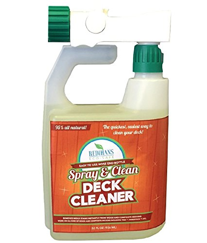 Spray and Clean Deck Cleaner (Ready to Use Hose End Bottle)