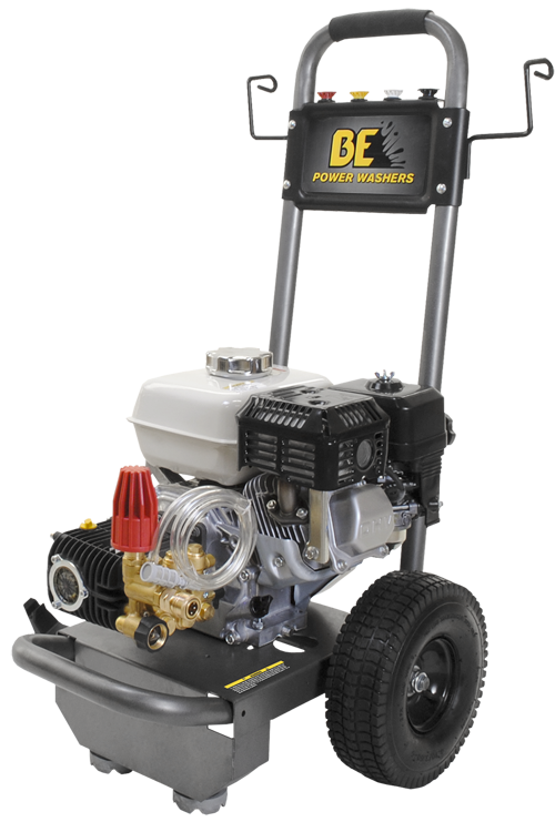 2700 PSI Pressure Washer by BE Pressure w/Honda Engine - Professional Grade (B2765HC)