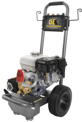 Image of 2700 PSI Pressure Washer by BE Pressure w/Honda Engine - Professional Grade (B2765HC)