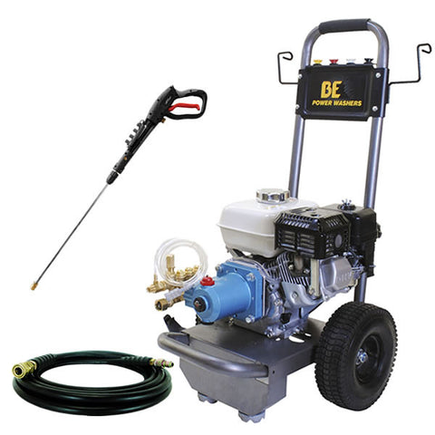 3000 PSI Pressure Washer by BE Pressure w/ Honda Engine and CAT Pump (B3065HJ)