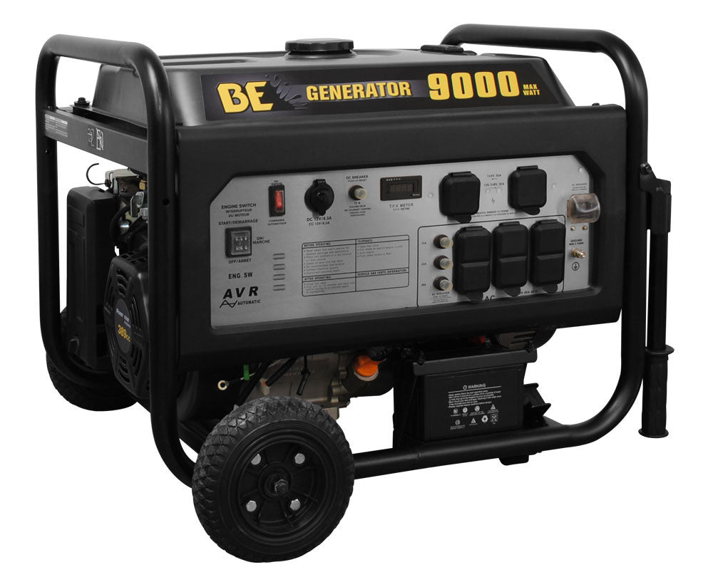 BE Pressure 9000 Watt Generator with Electric Start
