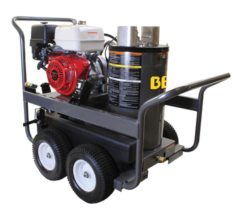 BE Pressure Washer 389cc Honda Hot Water