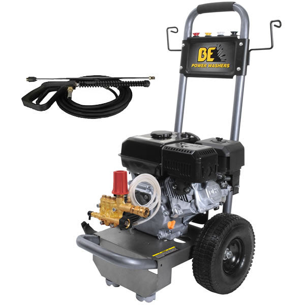 3100psi Pressure Washer by BE Pressure w/ Powerease Engine (B317RA)