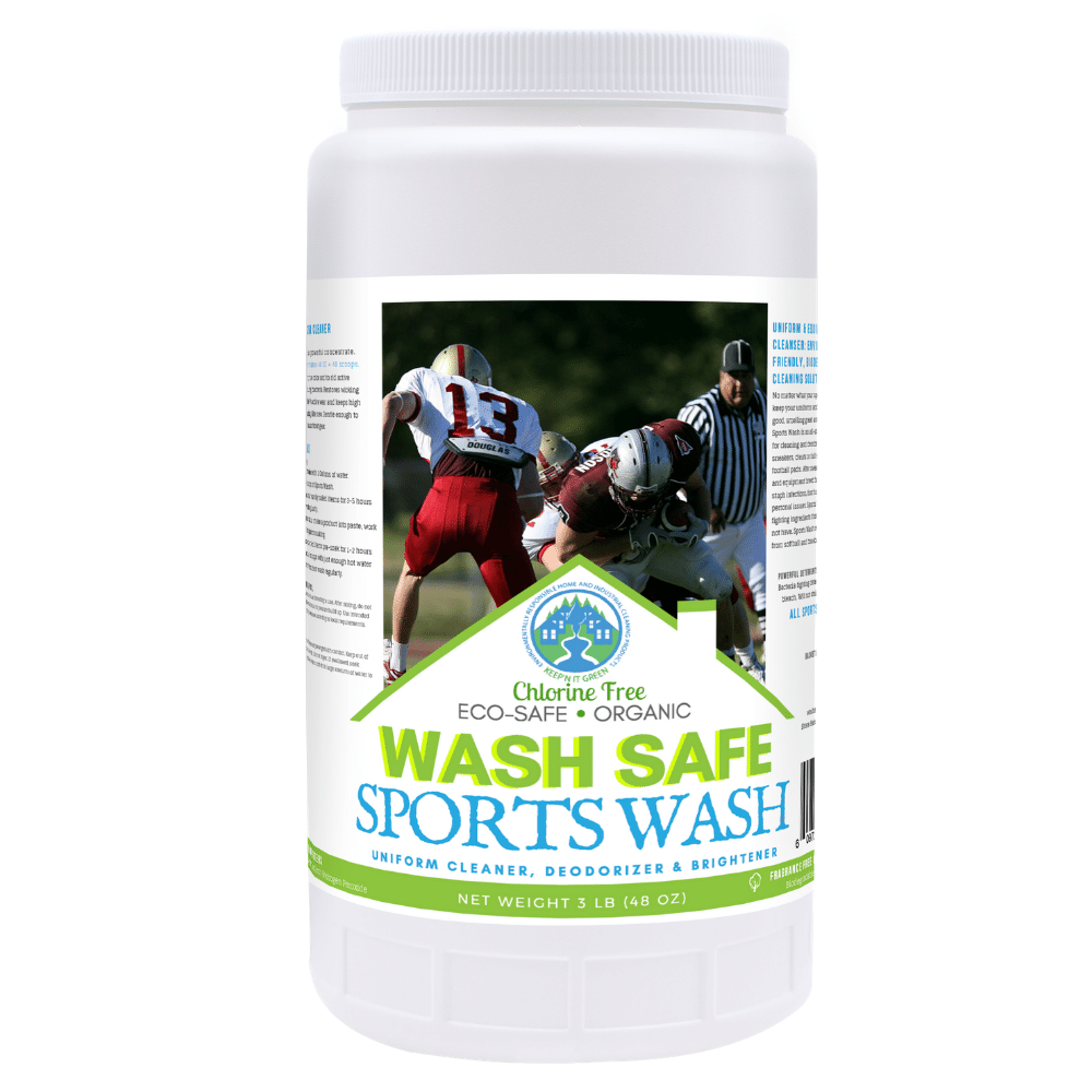 wash safe, sports wash, uniform cleaner, uniform detergent, tough stains, deodorizer, stain remover, sports uniform, jock, baseball, basketball, football, soccer, lacrosse, gear, equipment, detergent, extra strength