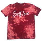 SELF LOVE MANTRA | RED BLEACH OUT [W]