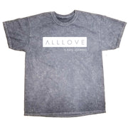ALLLOVE | GREY MINERAL WASH T-SHIRT