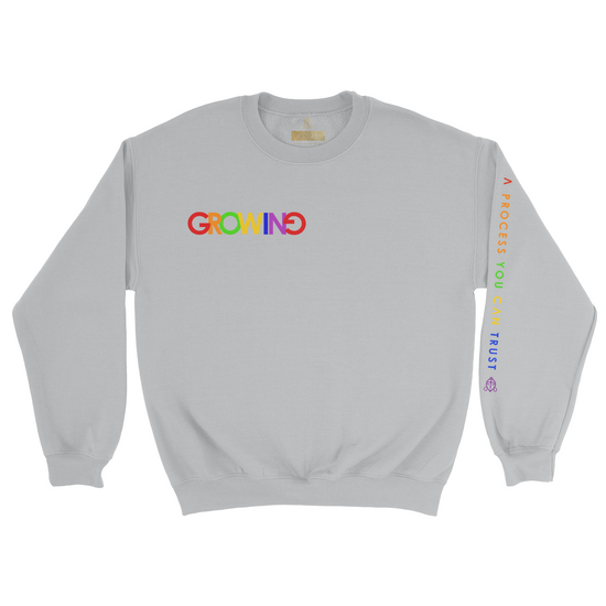 GROWING | HEAVY BLEND CREWNECK *PRINTED*