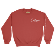 SELF LOVE | HEAVY BLEND CREWNECK *PRINTED*