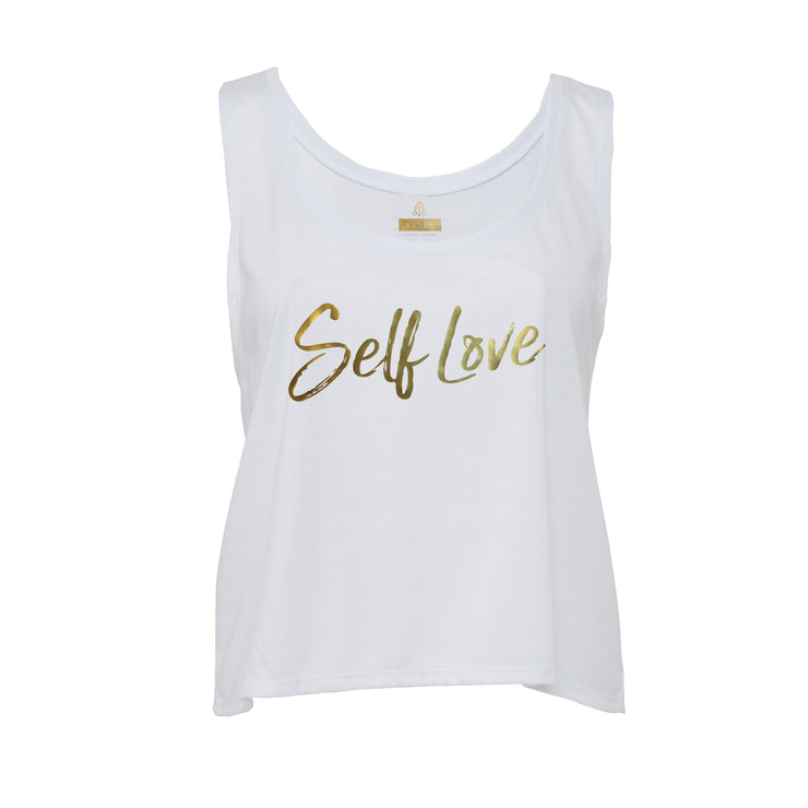 SELF LOVE MANTRA | FLOWY TANK