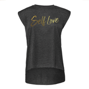 SELF LOVE | ROLLED CUFF TEE
