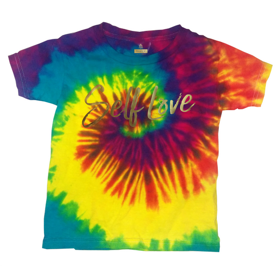 SELF LOVE | TODDLER TIE DYE *RAINBOW BURST*