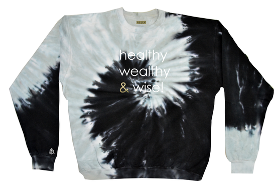 healthy wealthy & wise | *SPIRAL OF LIFE* TIE DYE PULLOVER