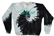 SELF LOVE | *SPIRAL OF LIFE* TIE DYE PULLOVER