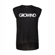 GROWING | ROLLED CUFF TEE