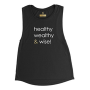 healthy wealthy & wise | MUSCLE TANK