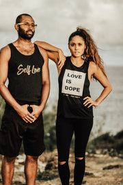 LOVE IS DOPE | MUSCLE TANK