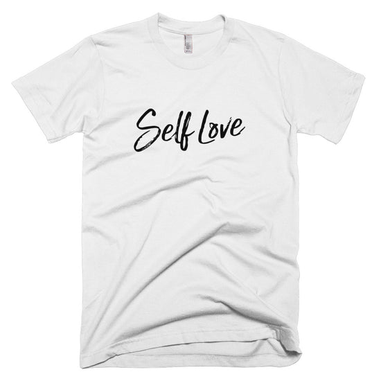 SELF LOVE | [BLACK] CLASSIC MENS T-SHIRT *PRINTED*