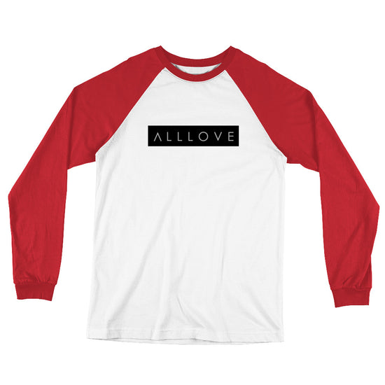 ALLLOVE | LONG SLEEVE BASEBALL TEE *PRINTED*