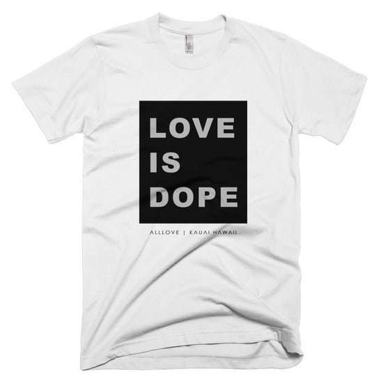 LOVE IS DOPE | [BLACK] CLASSIC T-SHIRT *PRINTED*
