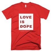 LOVE IS DOPE | [WHITE] CLASSIC TEE SHIRT *PRINTED*