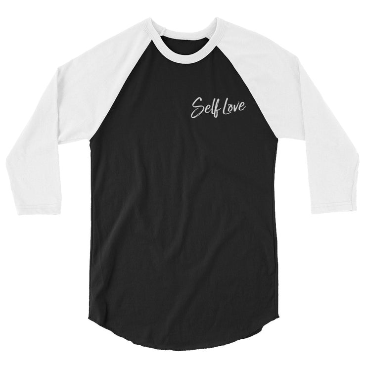 SELF LOVE | MENS 3/4 BASEBALL TEE *PRINTED*