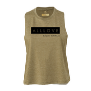 ALLLOVE CLASSIC | CROPPED RACERBACK TEE