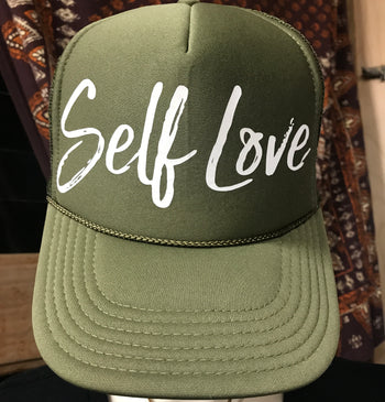 SELF LOVE | WHITE ON SAGE