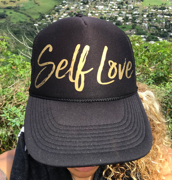 SELF LOVE | GOLD ON BLACK
