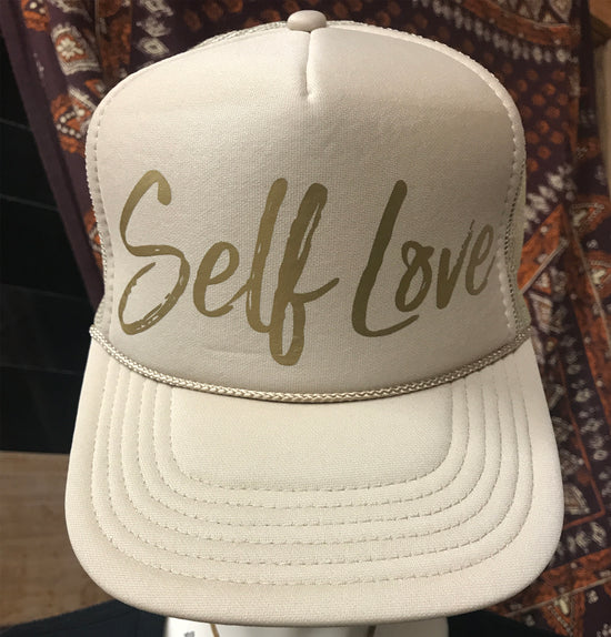SELF LOVE  | GOLD ON TAN