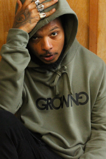 GROWING | Raw Seam Crew Pullover