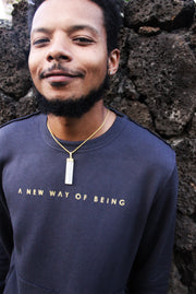 A NEW WAY OF BEING | Raw Seam Crew Pullover