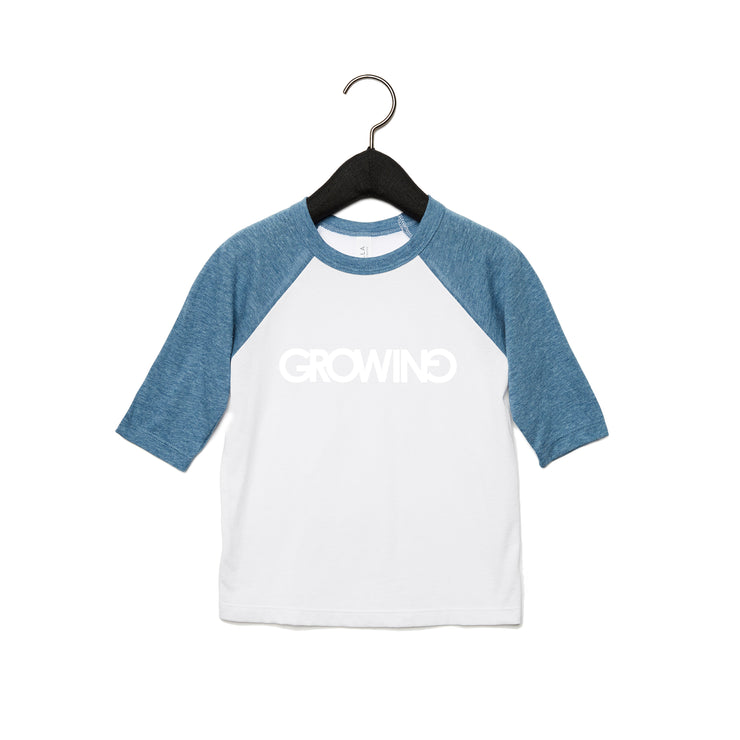 GROWING | TODDLER BASEBALL TEE