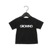 Copy of GROWING | BABY JERSEY SHORT SLEEVE TEE [NOIR]