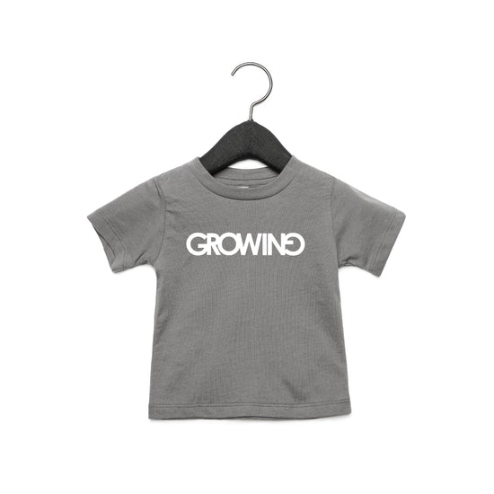GROWING | TODDLER JERSEY SHORT SLEEVE TEE [COSMIC GREY]