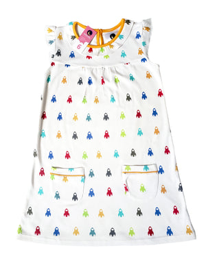 Rocketship nightgown