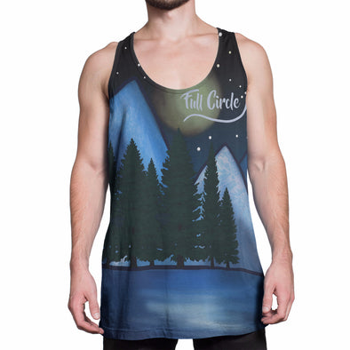 Summits and Valleys Tank, Unisex - Full Circle Clothing Company