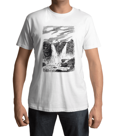 Grande Waterfall Unisex T-Shirt  - Let Your Imagination Run Wild