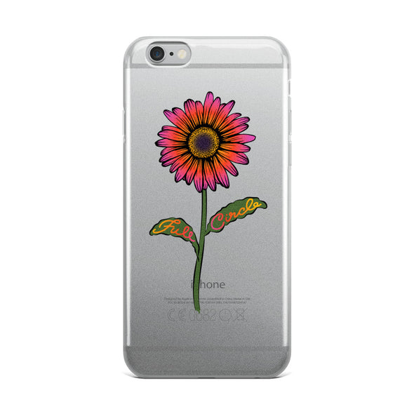Full Circle Flower iPhone Cases (Every iPhone Model)