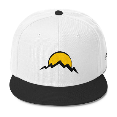 Sun and Mountain Snapback Hats - Full Circle Clothing Company