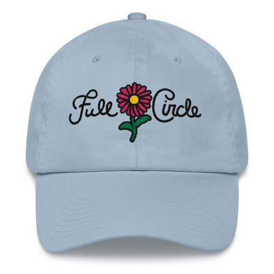 Full Cricle Flower Dad Hat