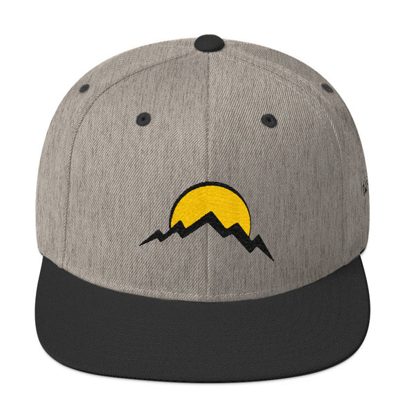 Wool Blend Snapback - Full Circle Clothing Company