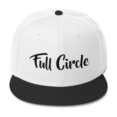Stop and Think Snapback Hats - Full Circle Clothing Company