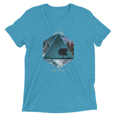 FULL CIRCLE WORLD TRAVELER T-SHIRT