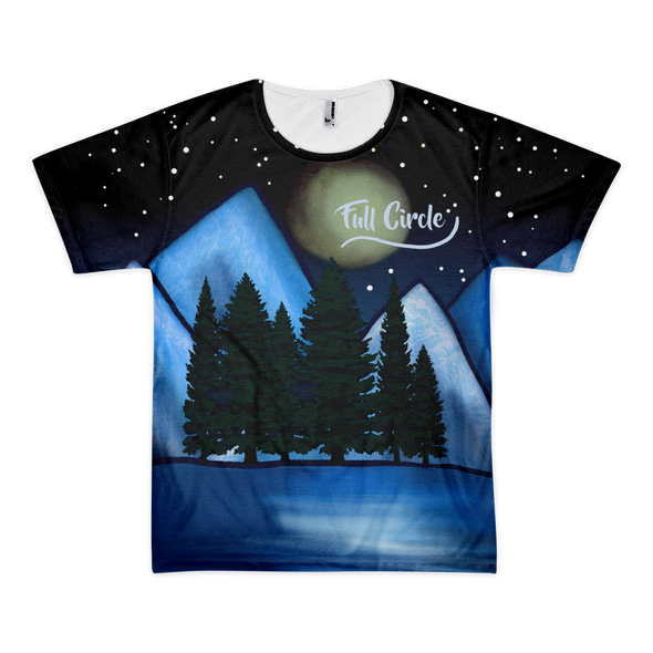 Summits and Valleys Mountain Range Tee, Unisex - Full Circle Clothing Company