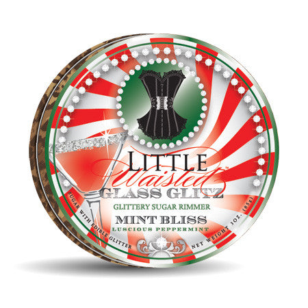Little Waisted ™ Mint Bliss Glass Glitz™