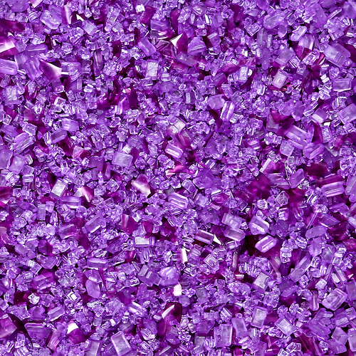 Bakery Bling™ Natural Purple Celebration Glittery Sugar™