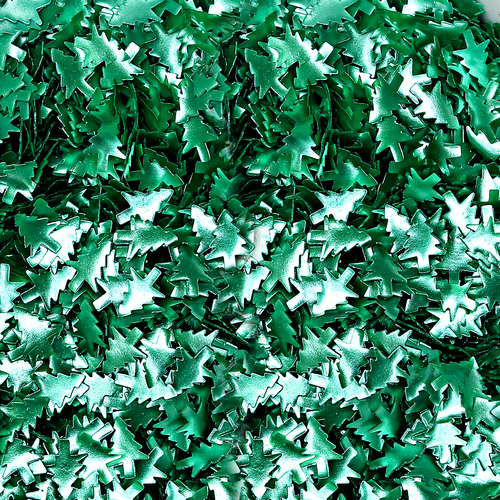 Bakery Bling™ Metallic Green Trees Glitter