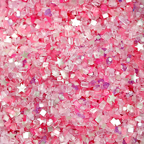 "Bakery Bling™ ""Pink Voltage"" Glittery Sugar™"