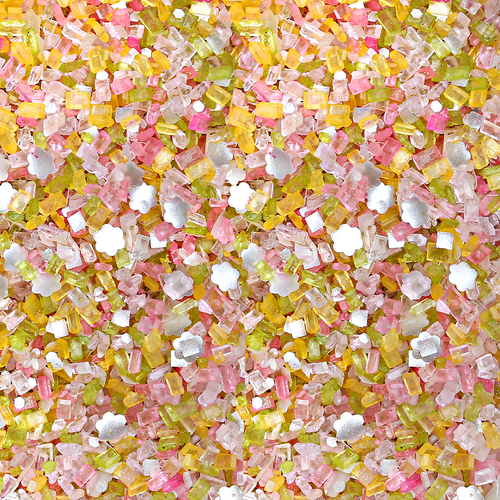 "Bakery Bling™ ""In Bloom"" Glittery Sugar™ Spring Blend w/Glittery Daisies"